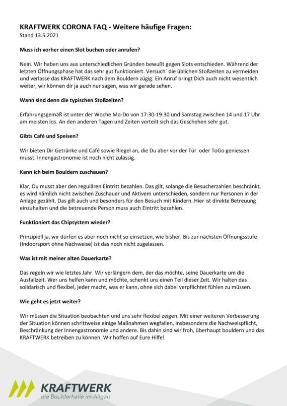 Corona-FAQ